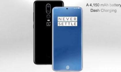 OnePlus 7 concept renders reveal triple rear cameras and in-display selfie camera