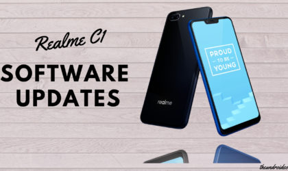 Realme C1 Pie update news and more: November 2018 patch rolling out now