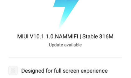 Xiaomi Redmi 4X MIUI 10 stable update is now available