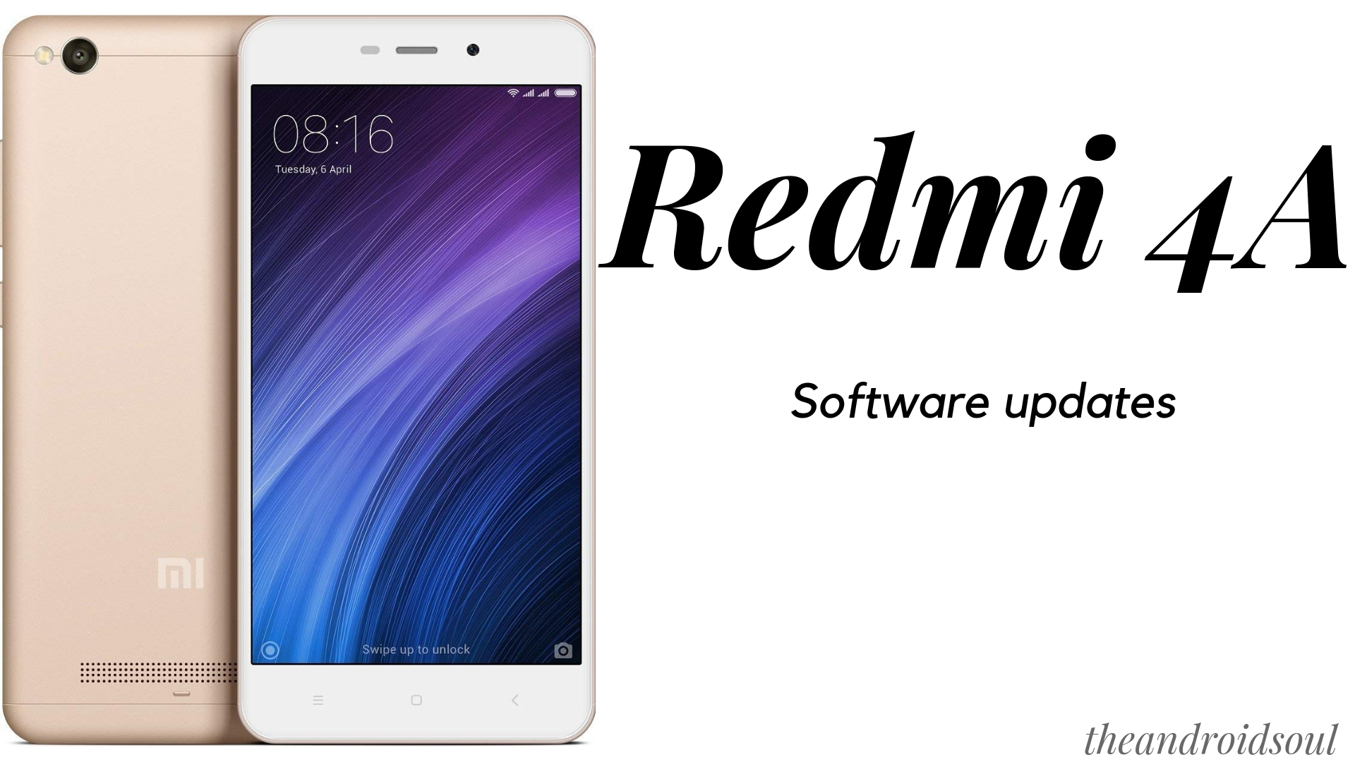 Redmi 4A software updates