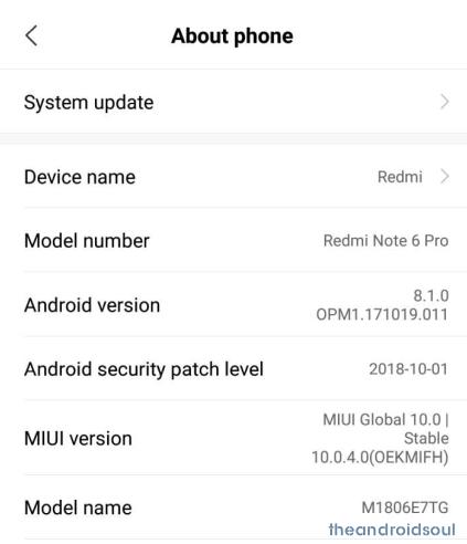 Redmi-Note-6-Pro-MIUI-10-OTA