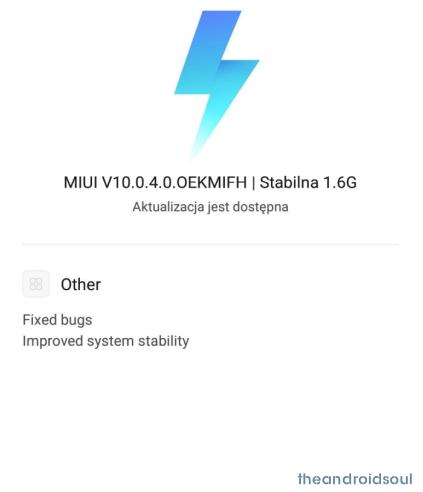 Redmi Note 6 Pro MIUI 10 update