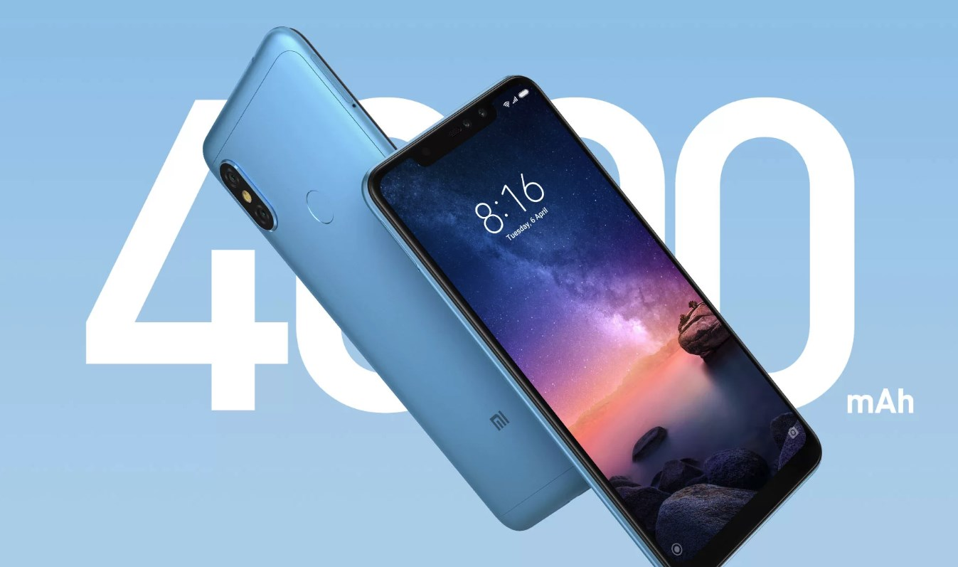 Redmi Note 6 Pro android phone