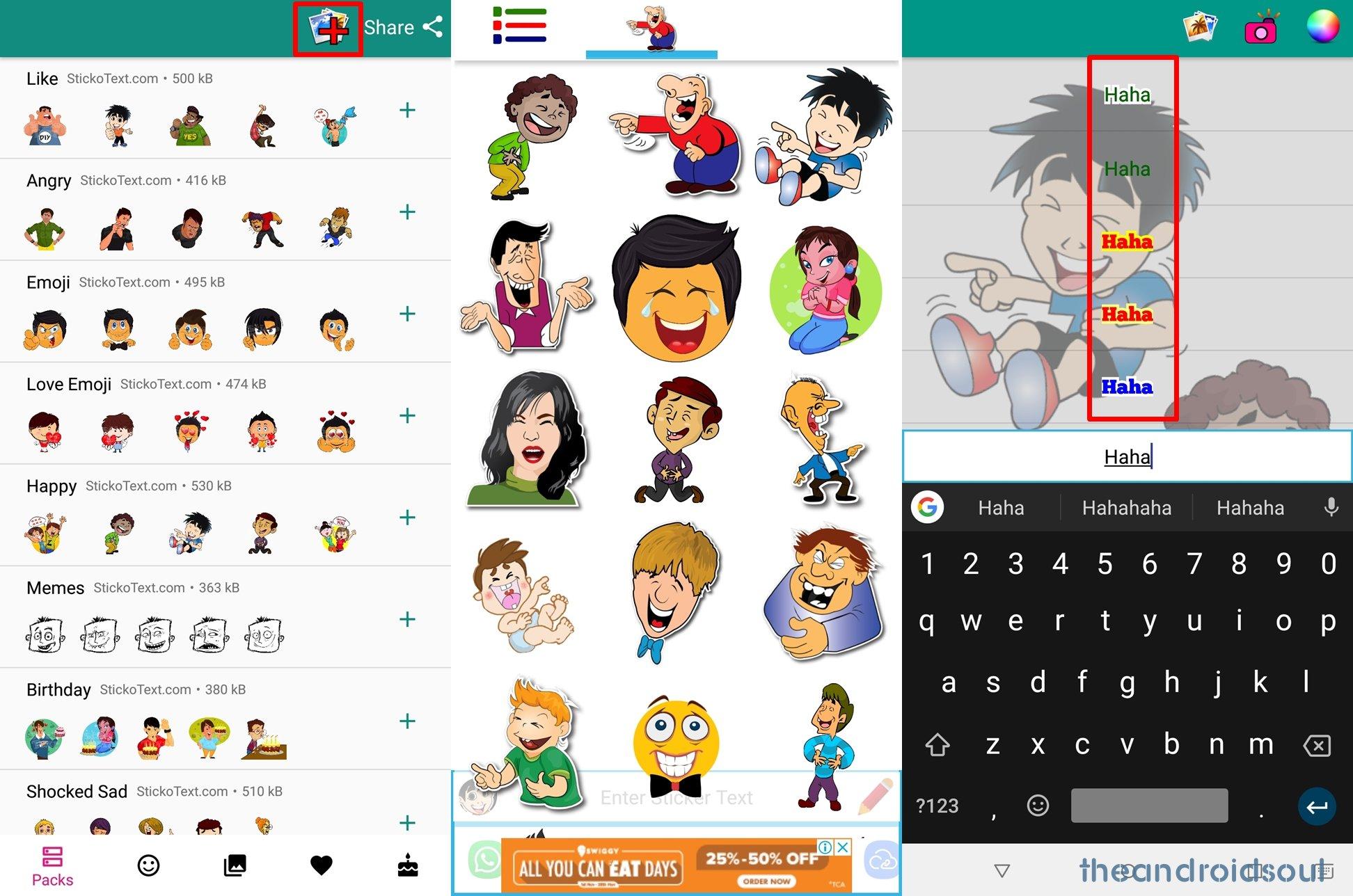 WhatsApp-sticker-text