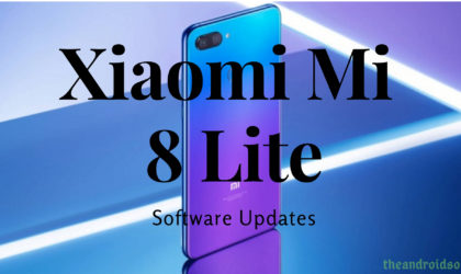 Xiaomi Mi 8 Lite Pie update news and more: MIUI 10 beta 9.2.15 brings Android 9; Stable Pie available in China