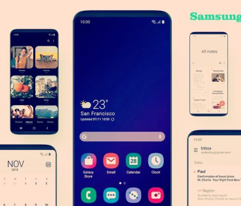 Samsung One UI release date and device list