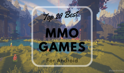 Top 20 Best Android MMO games