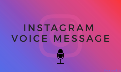 How to send voice messages on Instagram