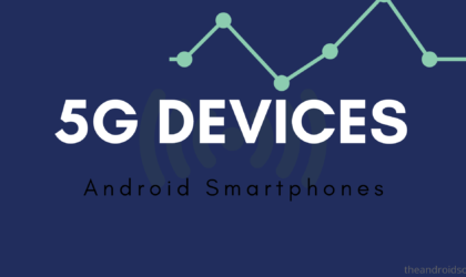5G Android Phones – Device list