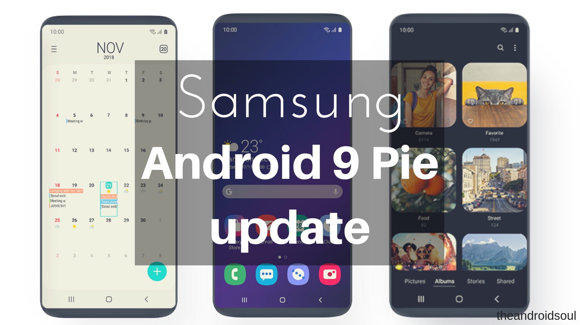 Samsung Android Pie release date revealed for Galaxy S8, S9, Note 8