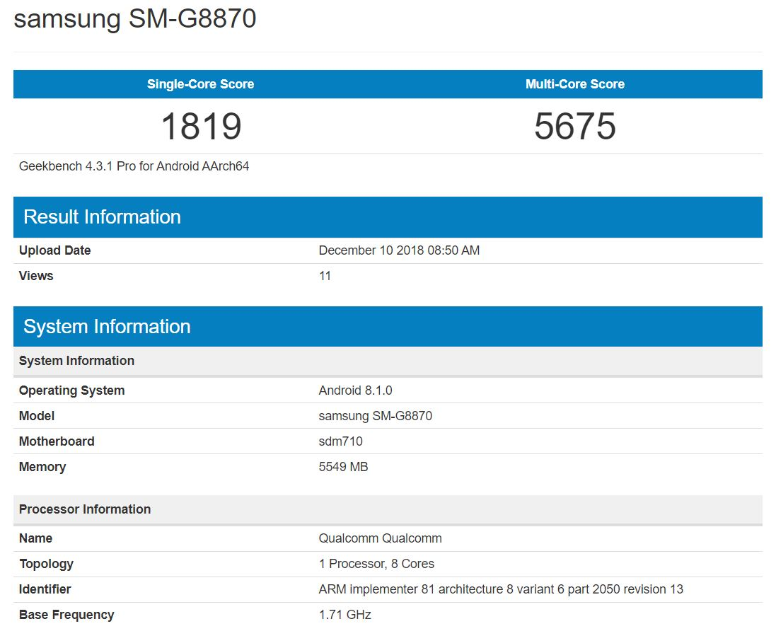 Galaxy-A8s-benchmark