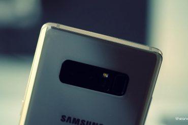 Samsung Galaxy Note 8 UK Pie update