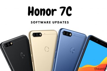 Honor 7C software update