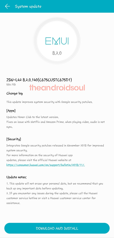 Honor-8X-update-OTA
