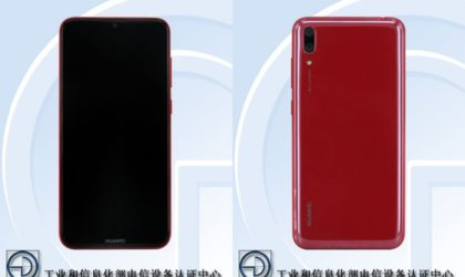 Huawei DUB images leak out, probably the Huawei Y7 2019