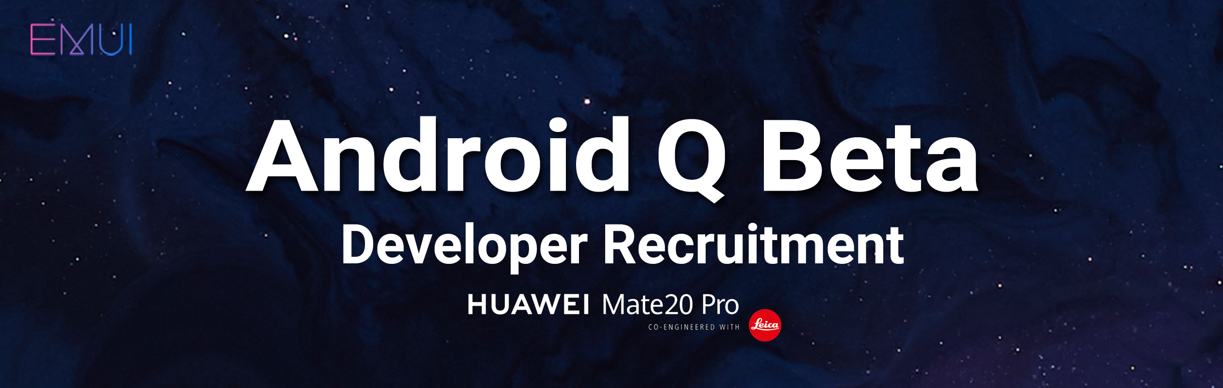 Huawei Mate 20 Pro update: Android Q beta available
