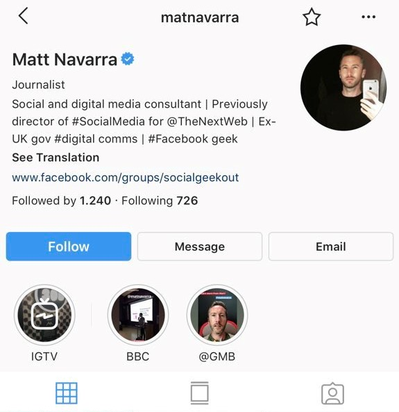 Instagram-Profile-Update