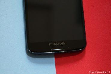 Motorola X4 Android Pie