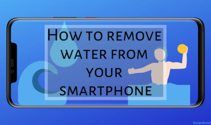 How to dry up your phone quickly
