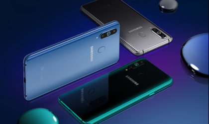 Samsung intros the first phone with a hole in the display, the Galaxy A8s