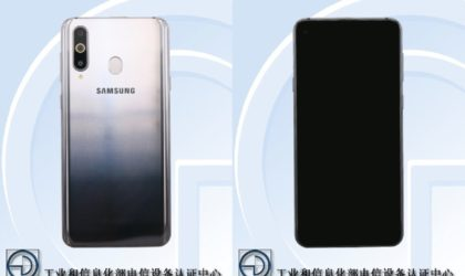 TENAA certifies Samsung Galaxy A8s with display hole for front camera, triple rear cam and gradient color scheme