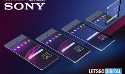 Sony foldable phone to have transparent dual-display