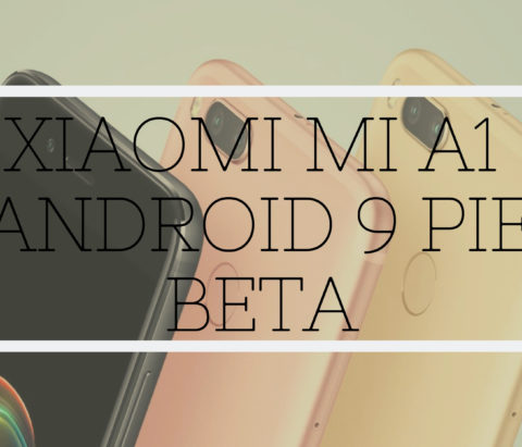 How to download Mi A1 Android Pie update