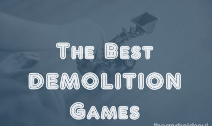 Best Demolition Games: Crush and destroy cars and whatever on your way to win!
