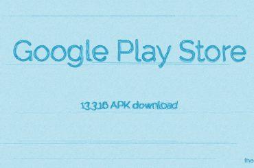 Google Play Store APK 13.3.16