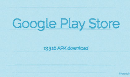Google Play Store app update version 13.3.16 released [download]