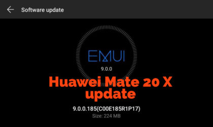 Huawei Mate 20 X update B185 changes files layout and enables Leica watermark by default
