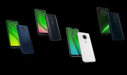 Motorola leaks the entire Moto G7 devices' specs and photos