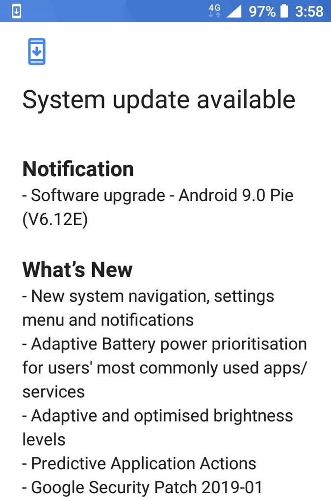 Nokia 5 Pie update-2