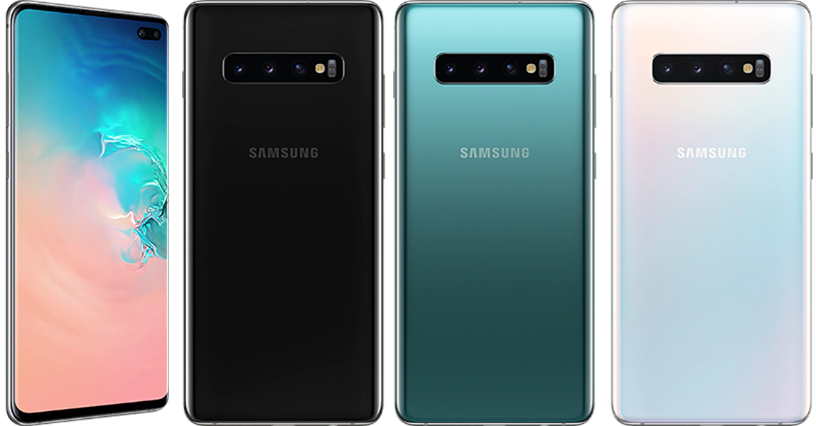 Samsung Galaxy S10 Plus colors