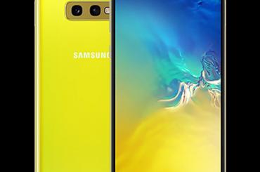 Samsung Galaxy S10e Canary Yellow