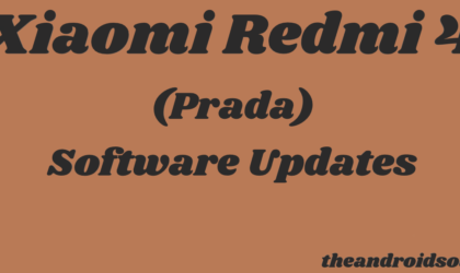 Xiaomi Redmi 4 (prada) update: MIUI 10.2.1 now rolling out