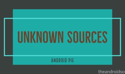 How to allow apps installation from unknown sources on Android 9 Pie