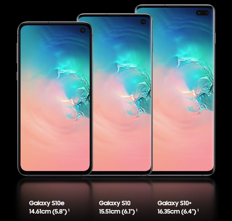 Galaxy S10 differences