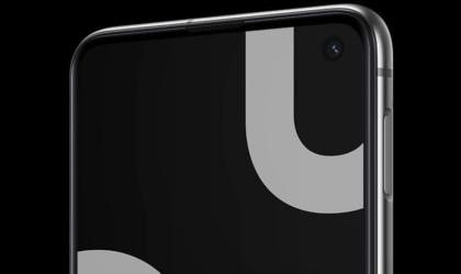 Galaxy S10 lets users hide the camera cutout