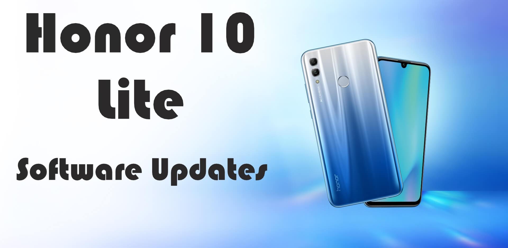 Honor 10 Lite software update