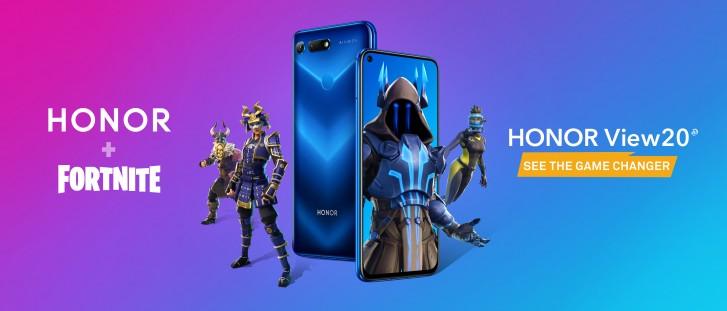 Huawei-Honor-View-20-Fortnite-update