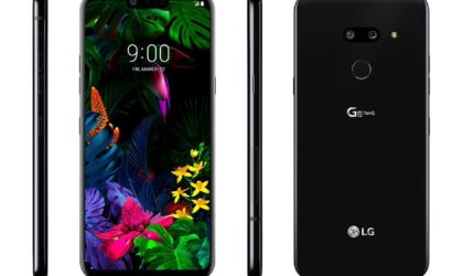 Leaked LG G8 ThinQ images leave nothing to the imagination, sound-emitting OLED screen confirmed too