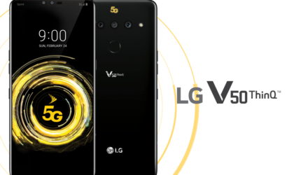 LG V50 ThinQ with 5G announced, coming to Sprint and Verizon starting this spring