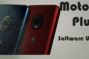 Motorola Moto G7 Plus software update