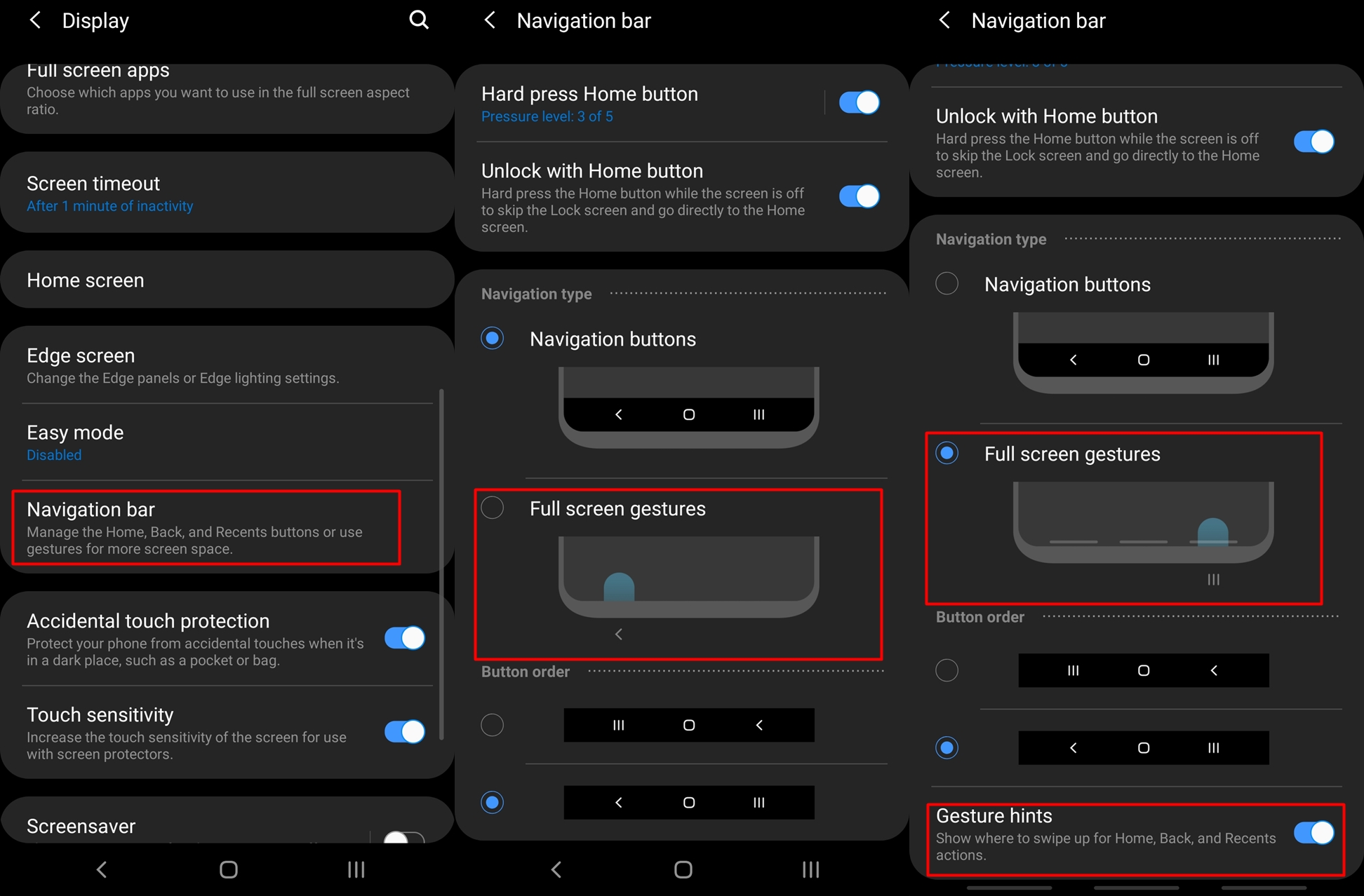 How To Hide Navigation Bar On One UI Android 9 Pie Update