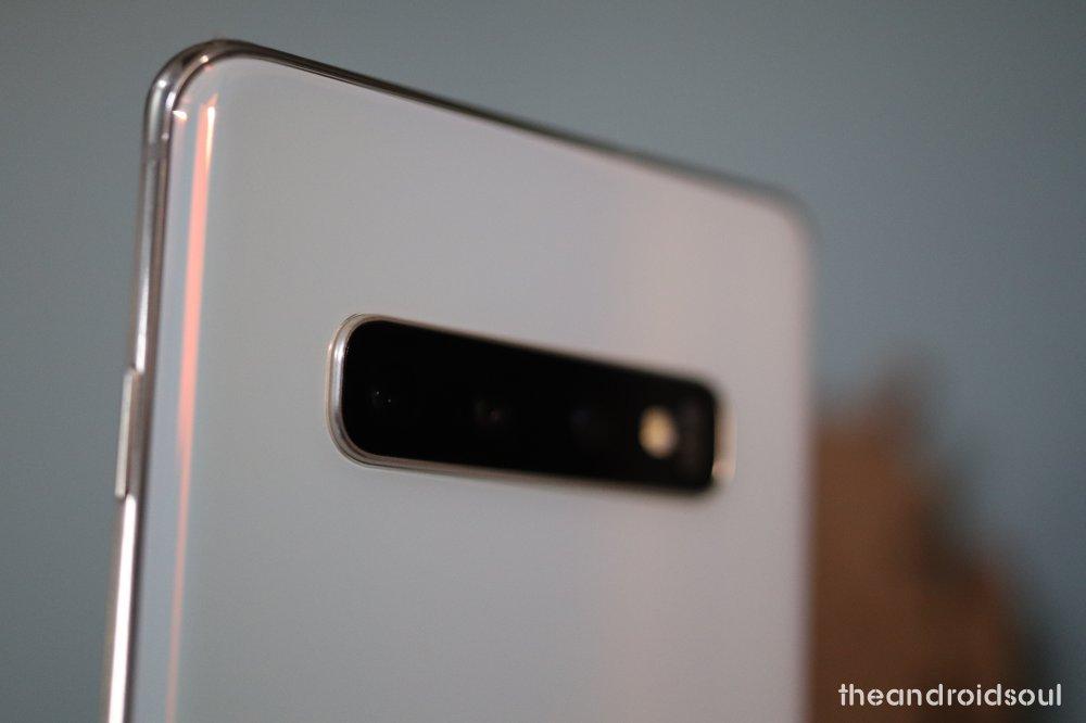 Galaxy S10 Plus fingerprint unlock problem