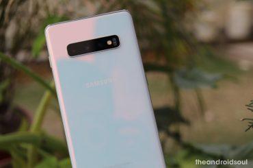 Samsung Galaxy S10 Plus April 2019 security patch