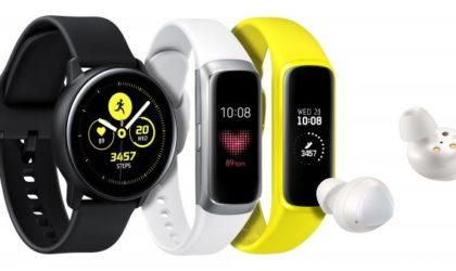 Samsung releases Galaxy Buds, Galaxy Watch Active and Galaxy Fit