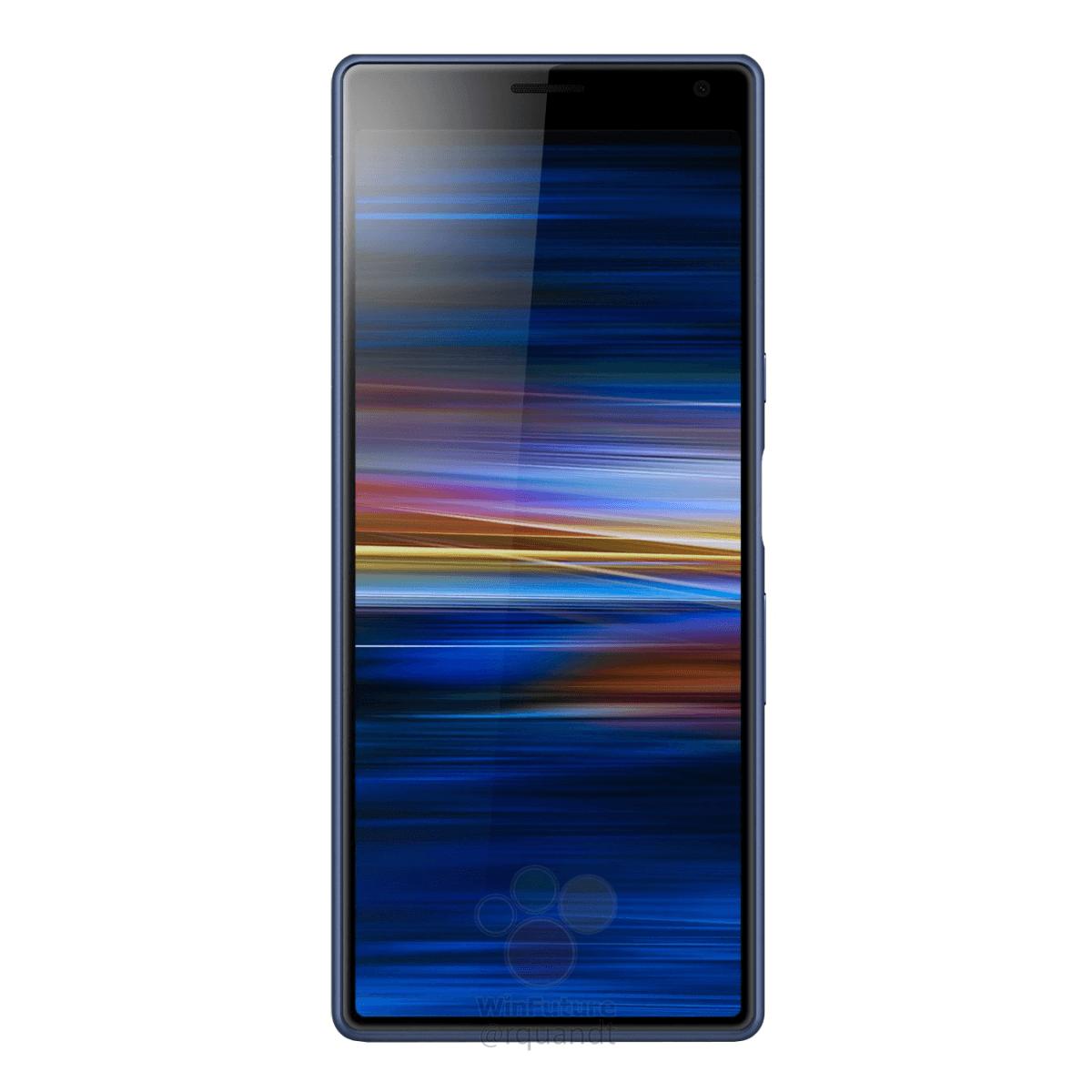 Xperia-XA3-press-render-blue