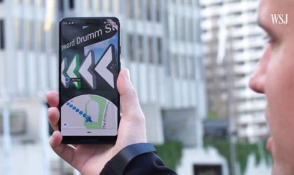 Google Map in Augmented Reality enters testing, could release for the public soon
